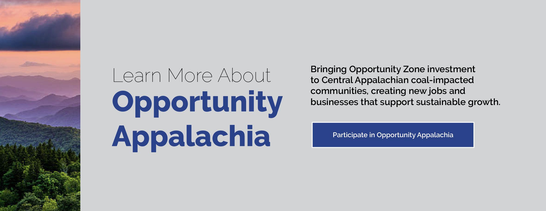 Appalachian Regional Commission Announces $44.4 Million to Diversify Region's Coal-Impacted Economies